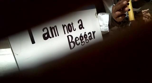 I am not a beggar !
