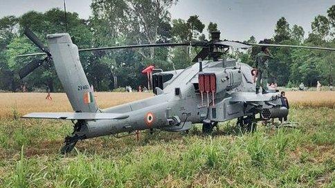 IAF chopper makes emergency landing in Punjab