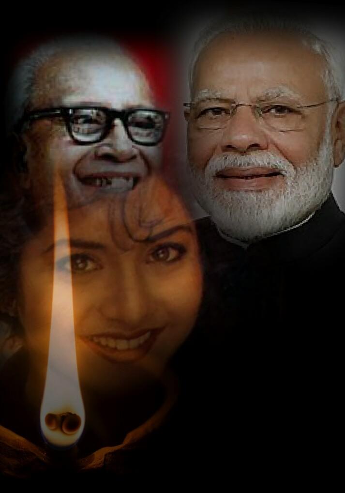 নাম্বুদ্রিপাদ থেকে দিব্যা ভারতী হয়ে নরেন্দ্র মোদীর 'দীপ জ্বেলে যাই'