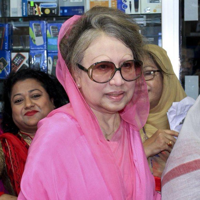 Khaleda Zia receiving treatment at home amid lockdown