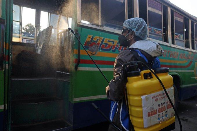 Restrictions on B'desh public transport, travels until May 30