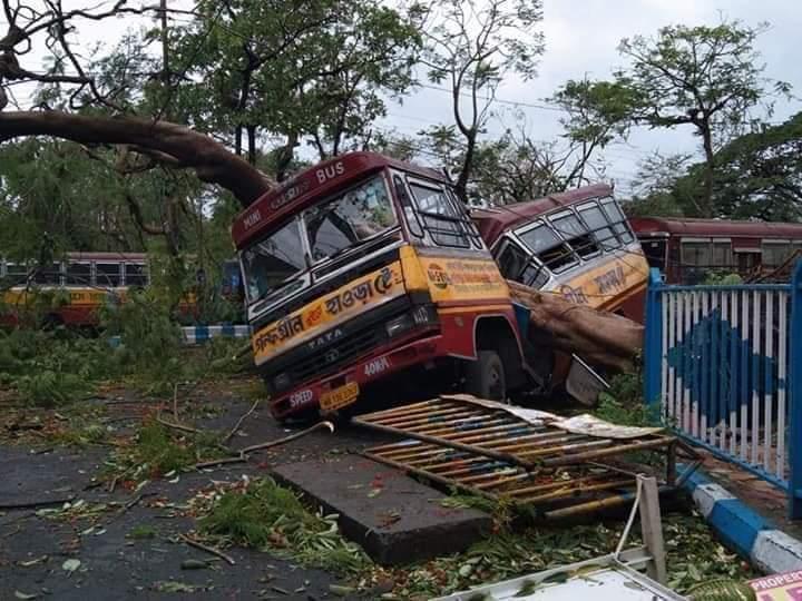 Cyclone 'Amphan': MHA teams to assess damages in WB, Odisha