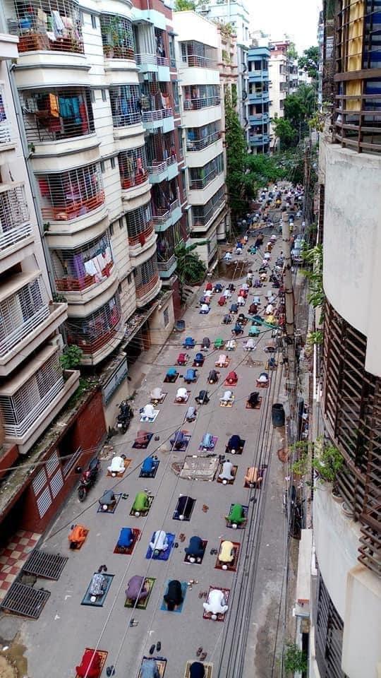 Eid celebrations in B'desh amid pandemic