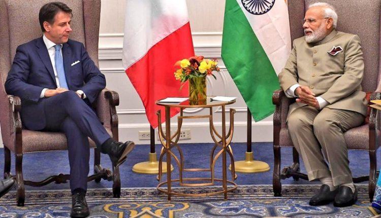 PM Modi, Italy PM discuss health, economic impact of COVID-19